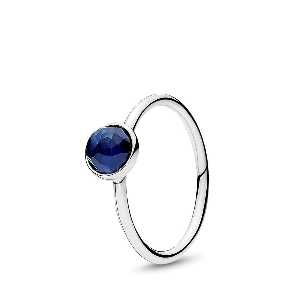 September Droplet Birthstone Ring