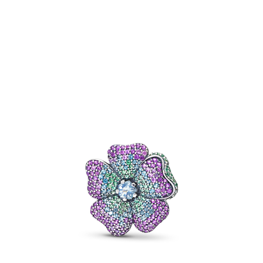 Glorious Bloom Pendant and Brooch