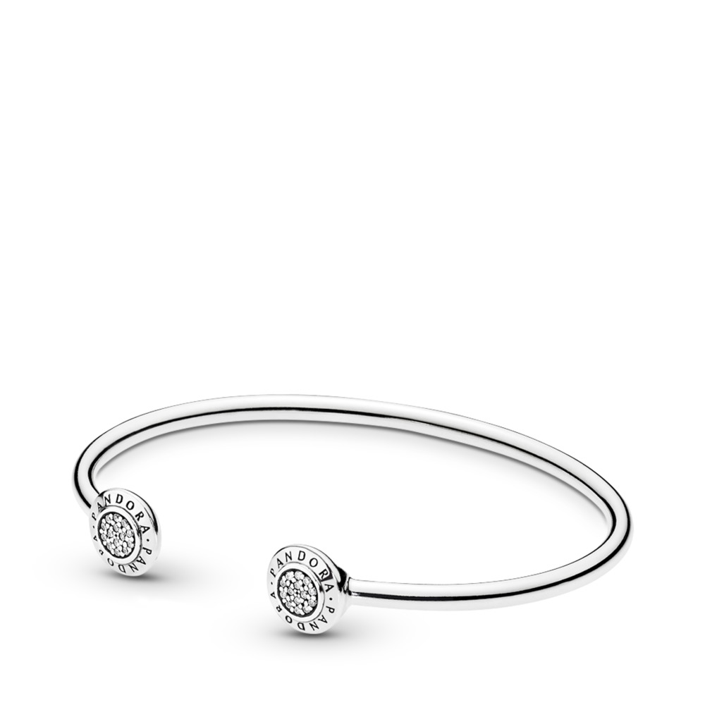 PANDORA Signature Open Silver Bangle