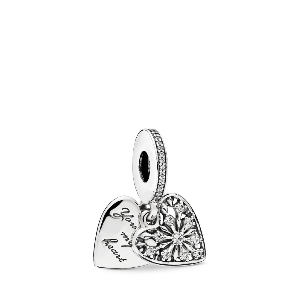 Heart of Winter Pendant Charm