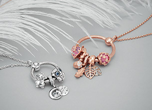 Necklaces for Women | Rose Gold, Gold & Silver | Pandora UK